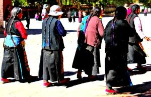 Tibet ladies 3