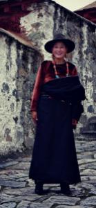 Tibet lady