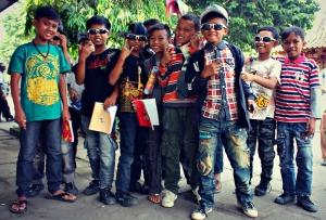 Teenagers in Yogyakarta
