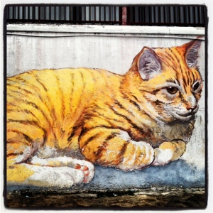 Cat graffiti Penang