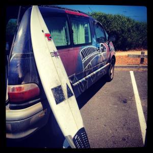 Our Van, my Board.