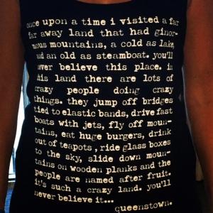 A J Hackett Tee-shirt