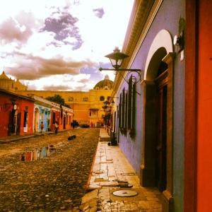 Antigua streets