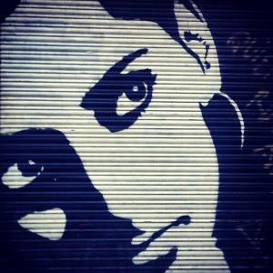 Monachrome streetart
